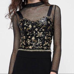 NWT Zara top size large
